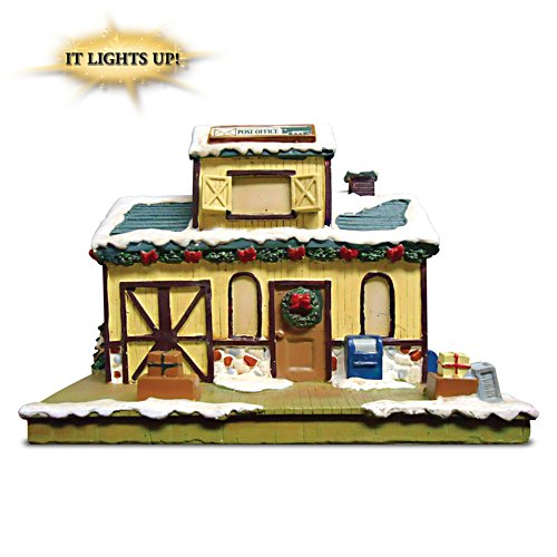 """Post Office"" Lighted Train Accessory"