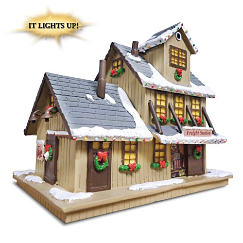 """Freight Station"" Lighted Train Accessory"
