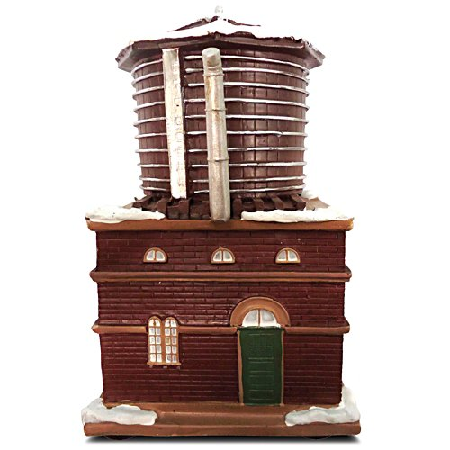 'Water Tower' Illuminated Train Set Accessory