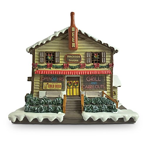 Trackside Tavern Illuminated Train Set Accessory