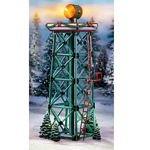 """Aircraft Beacon"" Tower For HO-scale Train Display"