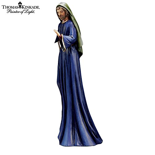 "Thomas Kinkade ""Christmas Story"" Nativity Joseph Figurine"