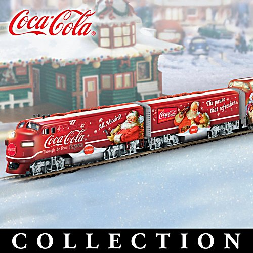 The COCA-COLA Through The Years Express Train Collection