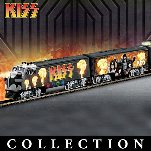 "KISS ""Rock 'N Roll Express"" Electric Train Collection"