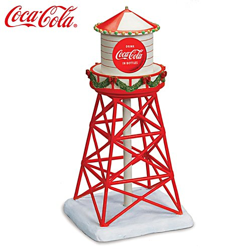 COCA-COLA Christmas Railroad Accessory