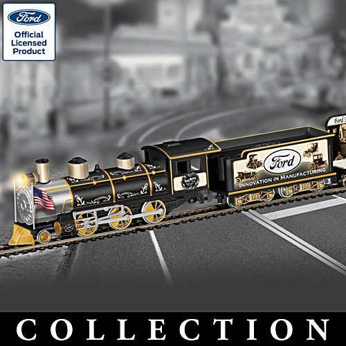'Ford: A Century Of Innovation' Train Collection