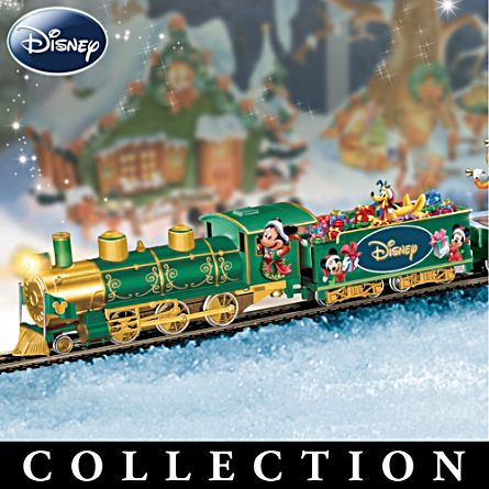 disney holiday celebration express train collection - Disney Christmas Train