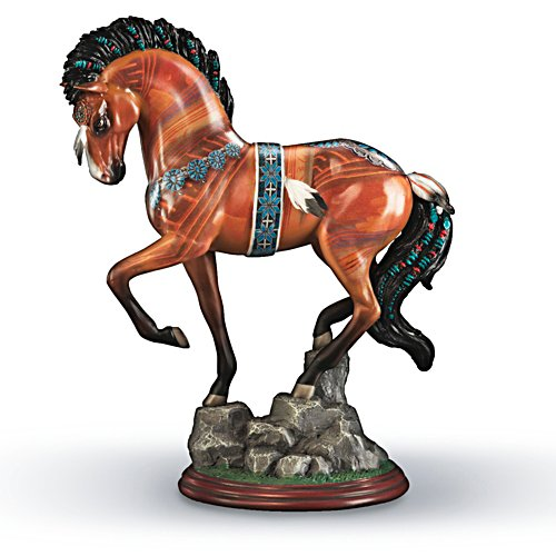 Native Treasure Horse Figurine