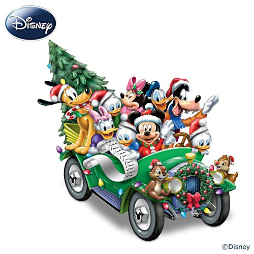 "Disney ""Once Upon A Holiday"" Musical Sculpture"