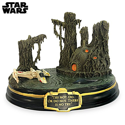 "STAR WARS ""Try Not. Do or Do not. There Is No Try"" Masterpiece Sculpture"