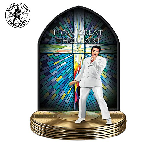 Elvis Presley Illuminated Gospel Music Sculpture