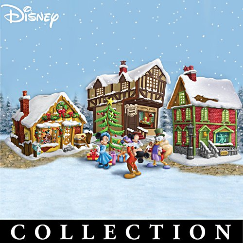 Disney Mickey Mouse's Christmas Carol Village Collection