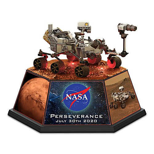 2020 Mars Rover Illuminated Sculpture