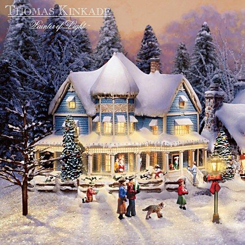 """Thomas Kinkade """"Holiday Bed & Breakfast"""""""