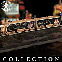 "Elvis Presley ""King Of Rock 'N' Roll Express"" Train Collection"