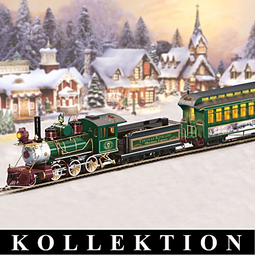 Thomas Kinkades Modell-Eisenbahn
