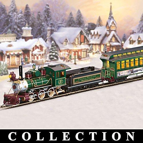 Train modèle réduit de Thomas Kinkade