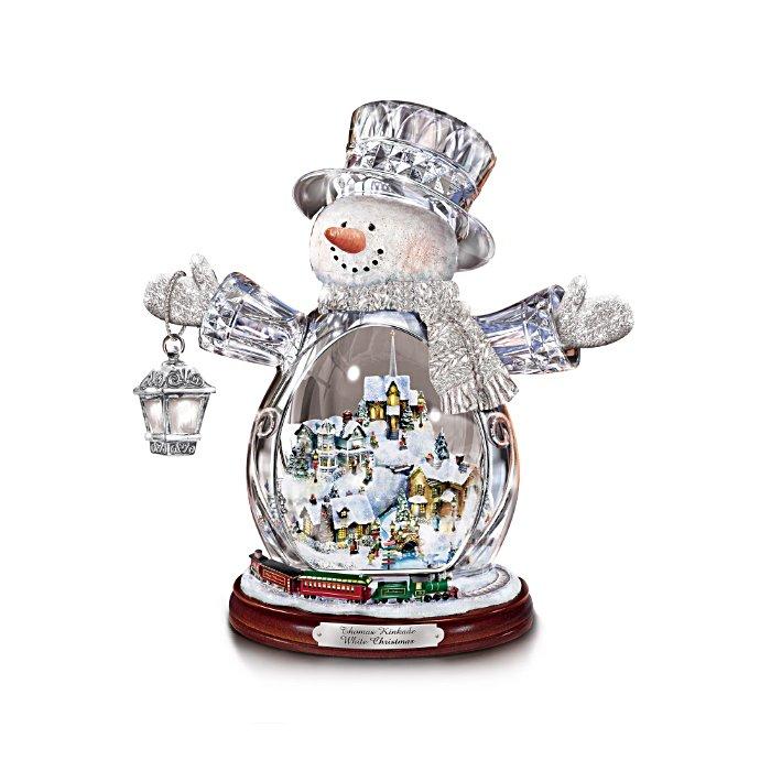 Weiße Weihnacht Schneemann