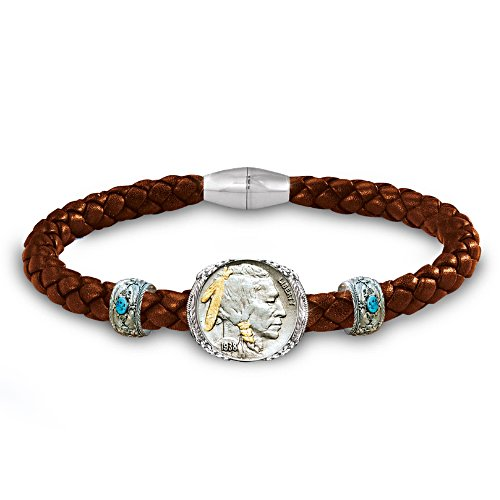 Buffalo Nickel – Lederarmband