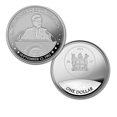 """We Choose to Go to the Moon"" Coin"