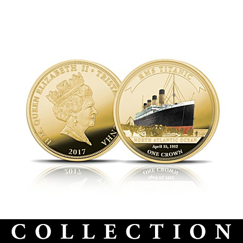 The Legendary Shipwrecks Gold Crown Coin Collection