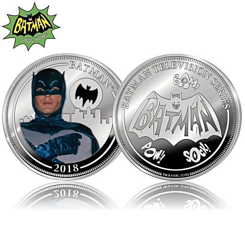 BATMAN Classic TV Series Proof Coin Collection With Display