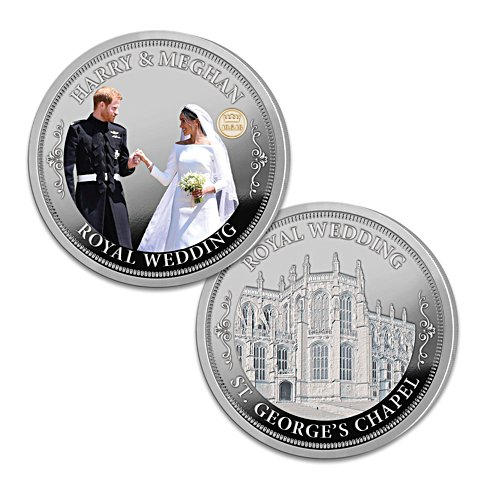 The Royal Wedding Coin Honouring Prince Harry and Meghan Markle