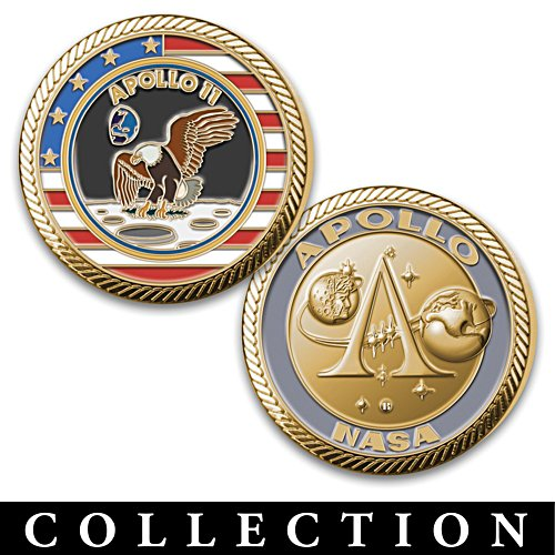 Apollo Program Challenge Coin Collection