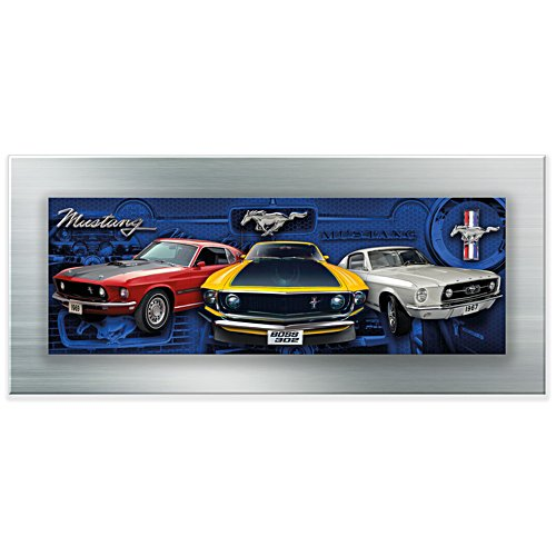 Mustang-Power – Panorama-Bild