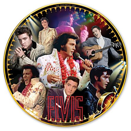 Elvis Presley 40-års Jubileum Minnestallrik