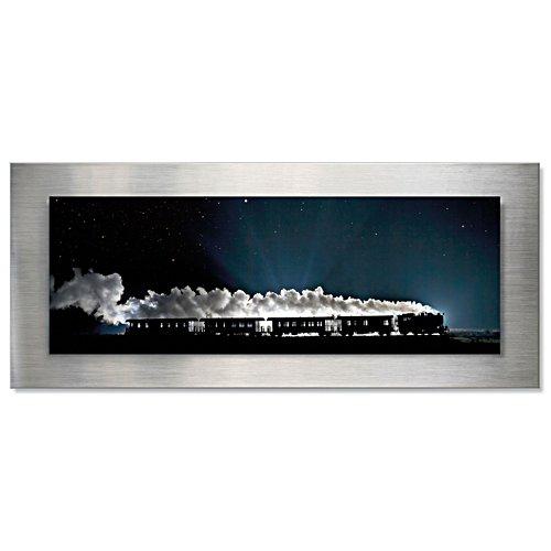 Magie der Nacht – Brockenbahn-Wandbild