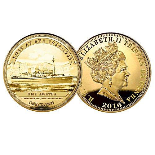 HMT Awatea Lost At Sea Coin
