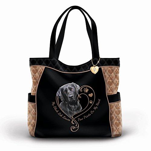 Pfotenspuren berühren mein Herz – Labrador-Tasche