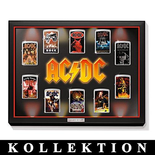 AC/DC Zippo-cigarettändar-kollektion