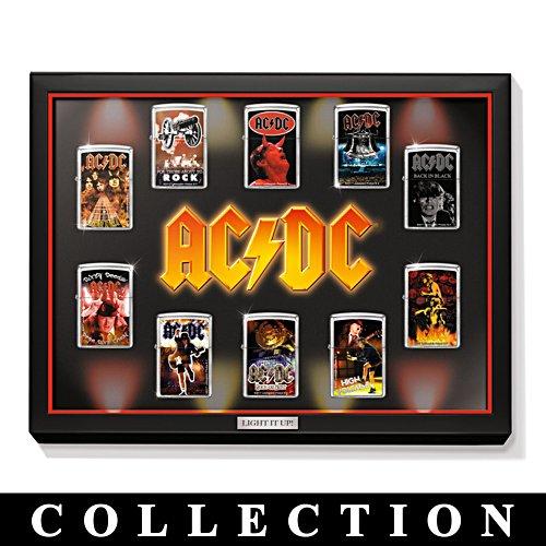 Collection de briquets Zippo AC/DC