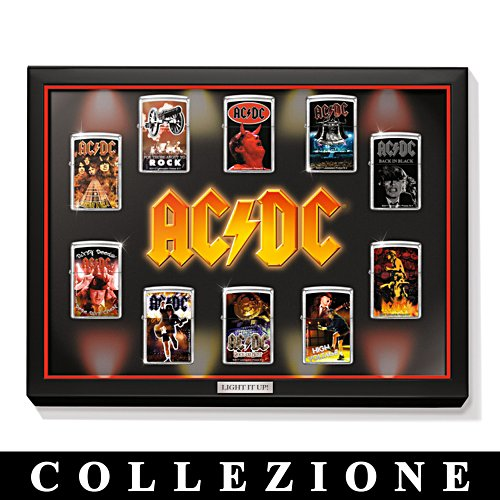 AC/DC: Collezione di Accendini Zippo