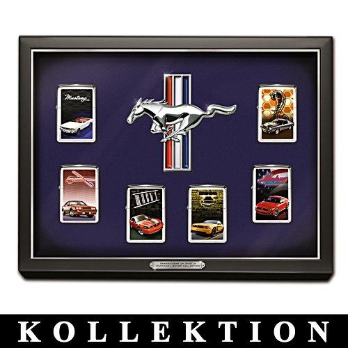 Mustang Legenden – Zippo®-Kollektion