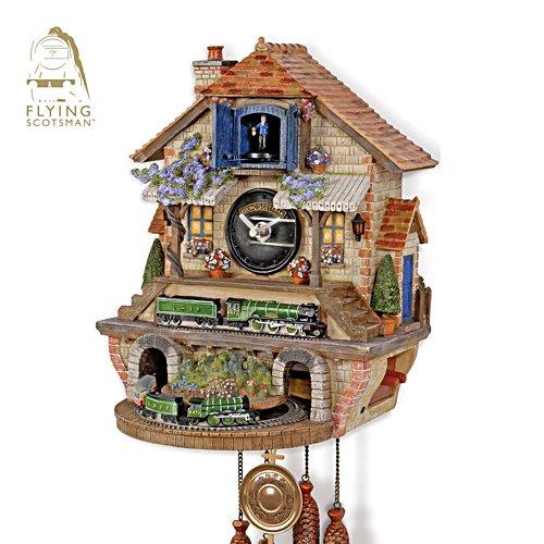 Flying Scotsman 'Memories Of Steam' Cuckoo Clock