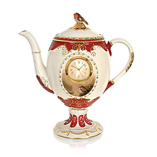 'Dawn's Bright Herald' Teapot Clock