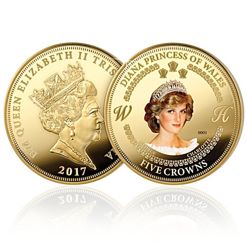 Princess Diana Five Crown Coin