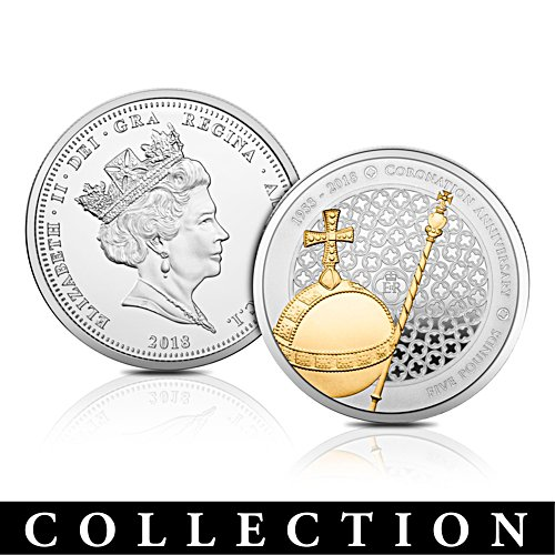 The Queen's Sapphire Coronation Coin Collection