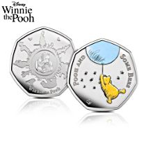 Disney Winnie The Pooh Pooh and Some Bees Coin