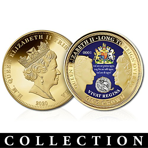 'Crowning Moments Of Queen Elizabeth II' Coins