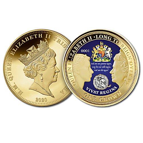 Vivat Regina - Long Live Queen Elizabeth II Golden Crown