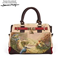 'Dawn's Bright Herald' Tri-Colour Handbag