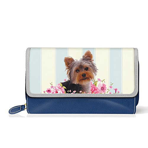 Yorkie 'Playful Pup' Ladies' Purse