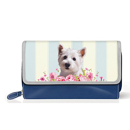 Westie 'Playful Pup' Ladies' Purse