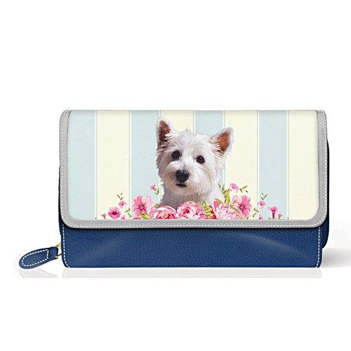 Westie 'Playful Pup' Ladies' Purse