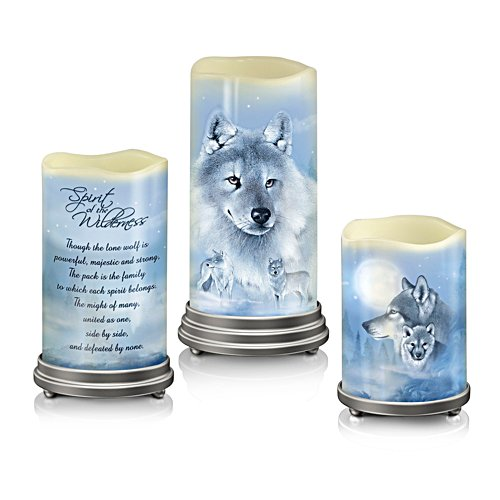 Eddie Le Page 'Spirit Of The Wilderness' Flameless Candle Set
