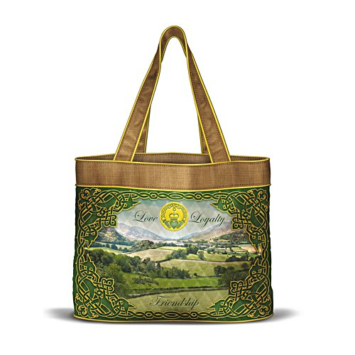 'Forever Ireland' Quilted Tote Bag